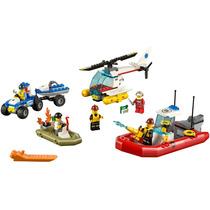 Lego City 60086 Starter Set Policia Bombero Doctor Todo En 1