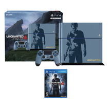 Consola Ps4 Sony 500gb Uncharted 4