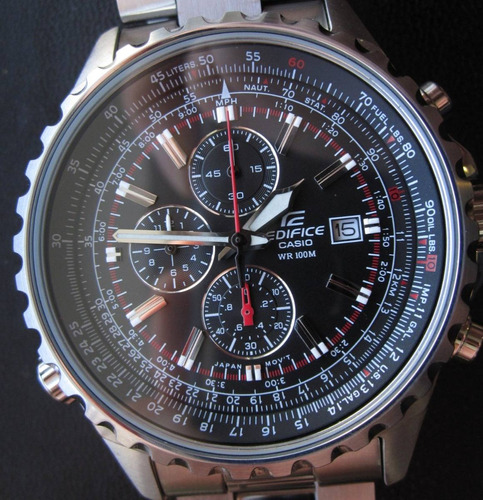 882709c6d1d4 Reloj Casio Edifice Ef-527d Crono - Ef527d-1av ( 527 D )
