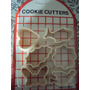 Set De Cookie Cutters Para Hacer Galletitas Formas X 6