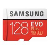 Tarjeta De Memoria Samsung Mb-mc128ga/apc Evo Plus Con Adaptador Sd 128gb