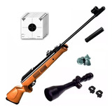 Rifle Aire Comprimido Fox Gr1600 X Piston + Mira 4x40 Cuotas