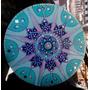 Cuadros Mandalas Decorativos Pintados A Mano Con Piedras