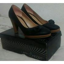 Zapatos Negros 38 De Mujer. Lady Comfort. Excelente Estado!