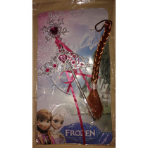 Frozen Corona Cetro Y Trenza De Elsa Anna Completa Disfraz