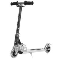 Monopatín Scooter Aluminio Plegable Con Luces Y Suspensión