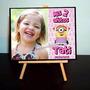 10 Mini Atril Con Fotos Souvenirs Cumple Minions Nena Nene