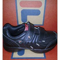 Zapatilla Fila Lugano Velcro Kids Del 23 Al 34