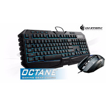 Teclado Y Mouse Cooler Master Octane 7 Led