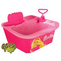 Lavavajilla Barbie +acc+agua+desagote Miniplay / Open-toys A