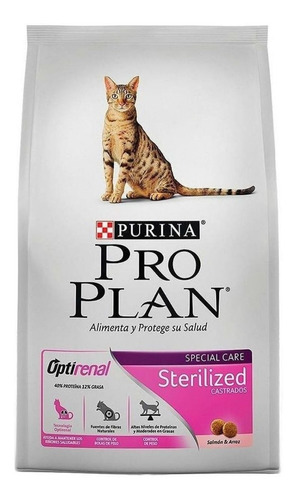 Alimento Pro Plan Sterilized Gato Adulto Salmón/arroz 7.5kg
