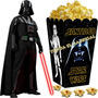 Kit Imprimible Darth Vader Star Wars Cotillon Candy Bar 2x1