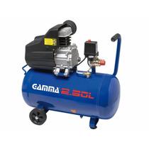 Compresor De Aire 50 Litros 2 Salid Gamma 2 Hp Profecional