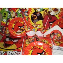 Angry Birds Combo Tematico 30 Chicos