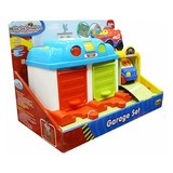 Garage Go Go Interactivo Luces Y Sonidos Autitos Winfun Full