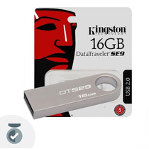 Pendrive Kingston 16gb Dt Se9 Usb 2.0 Pen Drive Tribunales