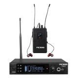 Ross Fum-001 Sistema De Monitoreo Inalámbrico In-ear