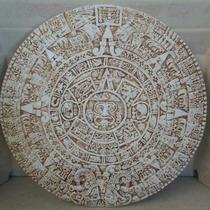 Calendario Azteca De Cemento Gris Imagen Para Pared