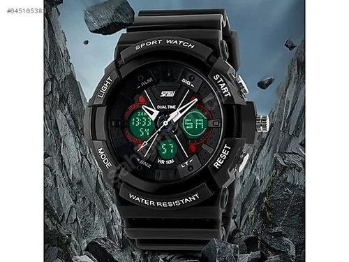 607d5f4b3d7c Reloj De Hombre Skmei 0966 Deportivo Militar