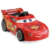 Auto Coche A Bateria Niños Rayo Mcqueen Control Remoto Cars