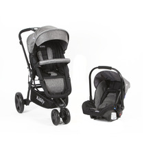 Coche Kiddy Compass Plus Travel System Ultraliviano Castelar