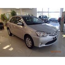 Toyota Etios Xls 1.5 4 Puertas Gris 0km Sarthou