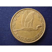 Moneda De Nueva Zelanda - Two Dollars - 1991
