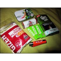 Combo Kit Tabaco Para Armar Completo Rinde 200 Cigarrillos