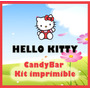 Candy Bar Kit Imprimible De Hello Kitty. Más De 50 Moldes