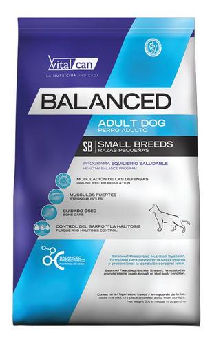 Alimento Vitalcan Balanced Perro Adulto Raza Pequeña 7.5kg