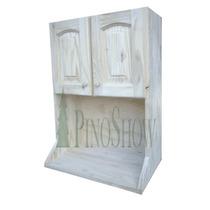 Alacena Porta Microondas 0,60 De Pino 1ra Calidad