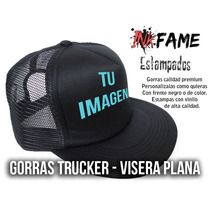 22172c9a45b39 Gorra Trucker Personalizada Visera Plana Premium en venta en ...
