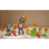 Souvenirs En Porcelana Fria Plantas Vs Zombies