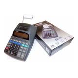 Calculadora Exaktus Er 100 12 Dígitos Rollo Papel Impresora