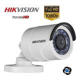 Cámara Seguridad Hikvision 1080p 2mp Cctv Turbo Hd Tvi Cvi Ahd Bullet Gran Angular