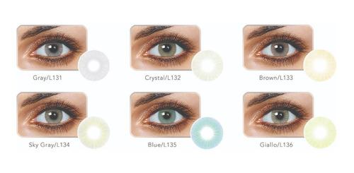 ce50fefd43 Lentes De Contacto Color-freshgo Hidrocor 2- Duración Anual