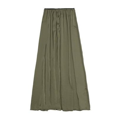 94074b8105 Prendas de vestir exteriores de todos los tiempos  Falda larga seda zara