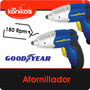 Atornillador Destornillador Inalambrico Good Year Led 3,6v