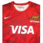Camiseta De Los Pumas Roja Sevens