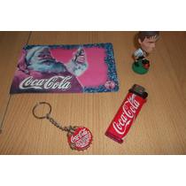 Lote Coca Cola De Coleccion 4 Piezas - Munro -
