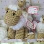 Muñeco Oveja Central Para Souvenirs, Nac, Baby Shower, Bauti