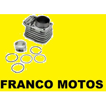 Kit Cilindro Zanella Rx 150 Piston Con Aros Franco Motos