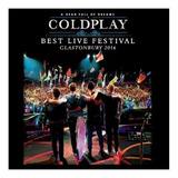 Coldplay Best Live Festival Glastonbury 2016 Cd Nuevo Stock
