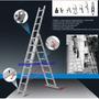 Escalera De Aluminio Extensible Bombero Ursustools