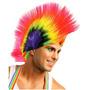 Peluca Punk Frizze De Colores Varias Combinaciones Cosplay