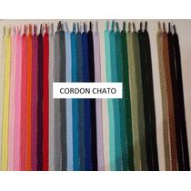 Cordones Trenzados Chatos P/ Capuchas 1,10 Mt X 144 Unidades