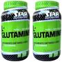 L Glutamina Star Nutrition 600gr Aminoácido Proteína + Dieta