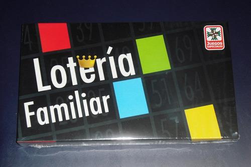 Juego De Mesa Loteria Familiar Ruibal Version Economica 200 En