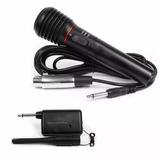 Microfono Profesional Inalambrico O Con Cable Ideal Karaoke
