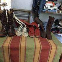 Lote De 10 Pares De Zapatos Especiales Para Feria Americana